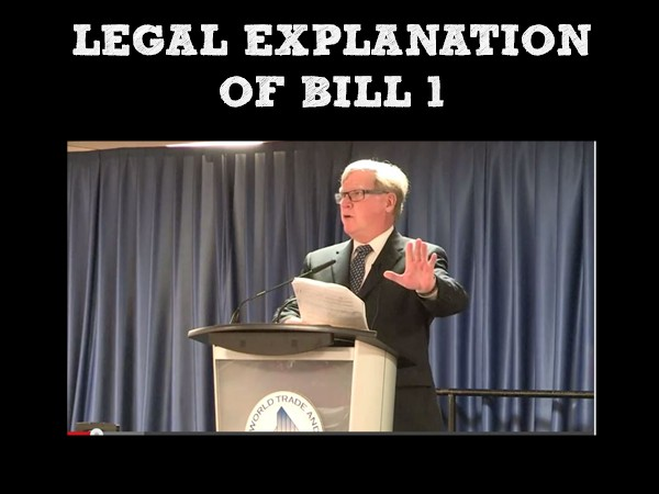 Labour lawyer Ray Larkin explains Bill 1