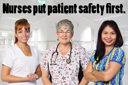 NSGEU Nurses Put Patient Safety First
