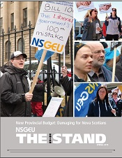 The NSGEU Stand – Latest Issue