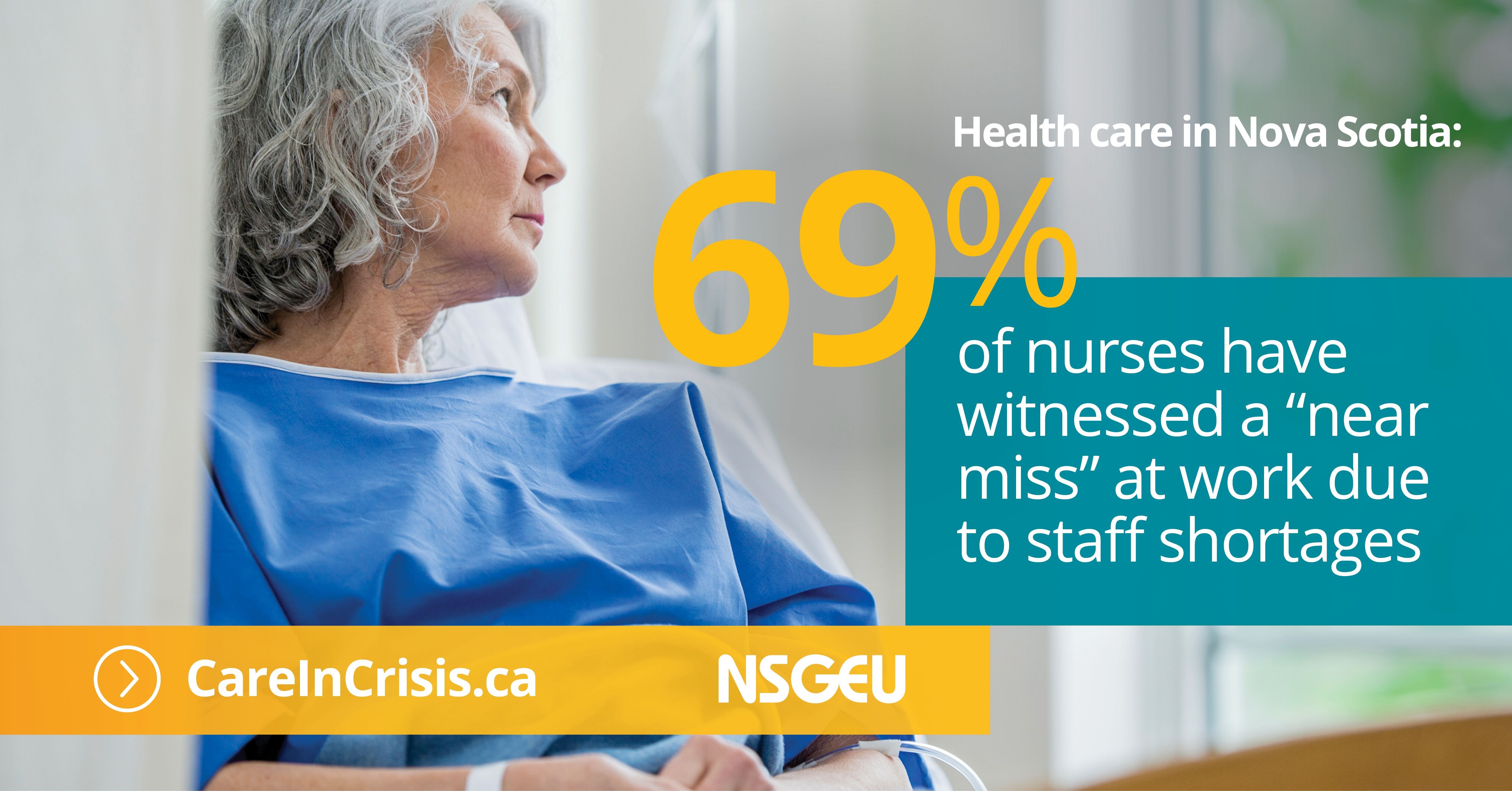 69% of nurses have witnessed a